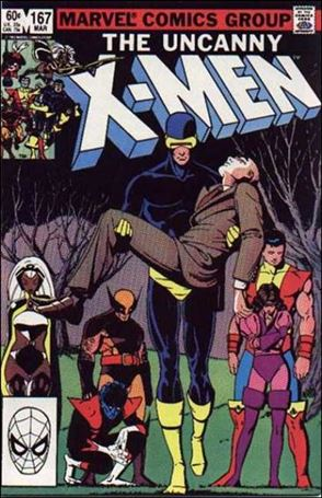 Uncanny X-Men (1981) 167-A