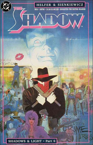 Shadow (1987) 6-A by DC