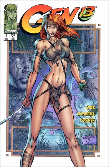 Gen13 (1995) 5-A by WildStorm