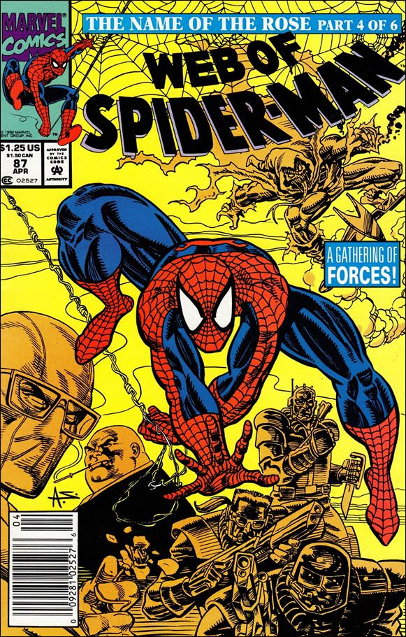 Web of Spider-Man (1985) 87-A by Marvel
