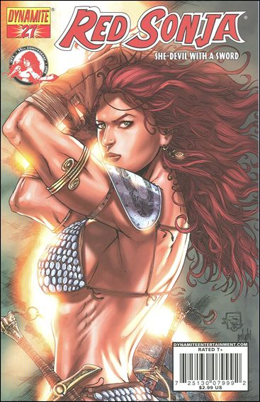 Red Sonja 27-C by Dynamite Entertainment