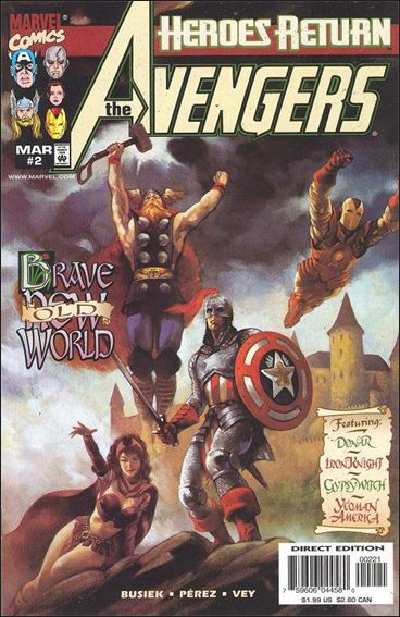 Avengers (1998) 2-B by Marvel