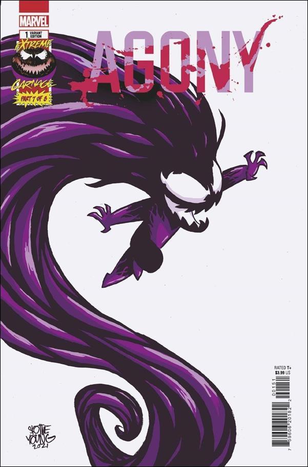 Extreme Carnage: Agony 1-C by Marvel