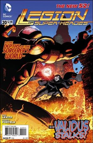 Legion of Super-Heroes (2011) 20-A