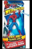 Amazing Spider-Man (Web Battlers)  Spinnin' Staff Spider-Man (Comic Series)