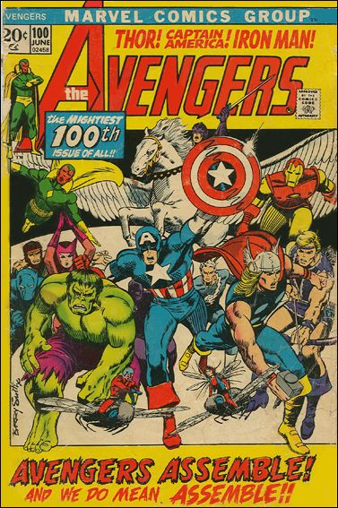Avengers (1963) 100-A by Marvel