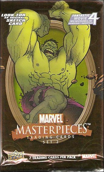 2008 Marvel Masterpieces: Series 2 2-B by Upper Deck