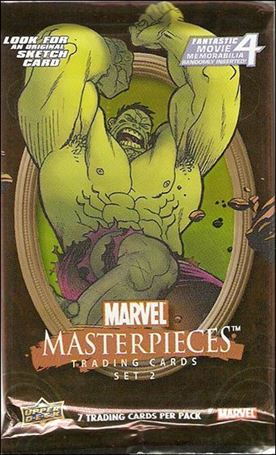 2008 Marvel Masterpieces: Series 2 2-B