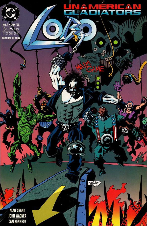 Lobo: Un-American Gladiators 1-A by DC