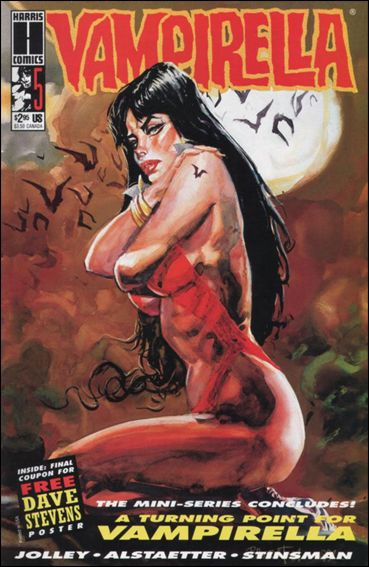 Vampirella (1992) 5-A by Harris
