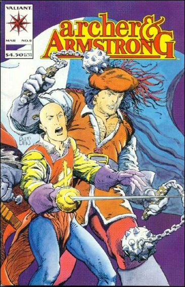 Archer & Armstrong (1992) 8-A by Valiant