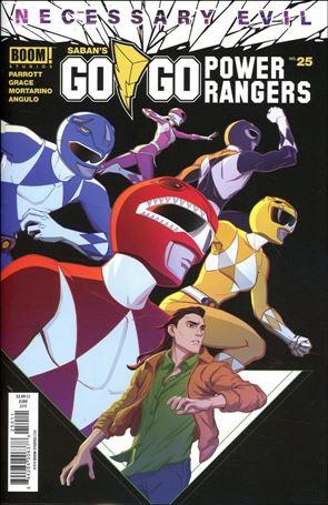 Saban's Go Go Power Rangers 25-A