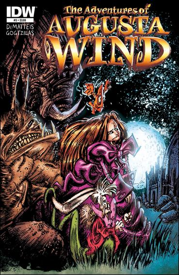 Adventures of Augusta Wind 3-A by IDW