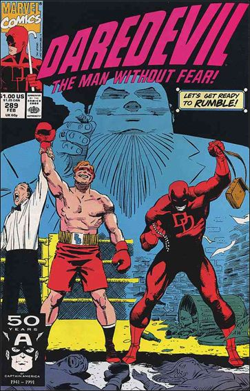 Daredevil (1964) 289-A by Marvel