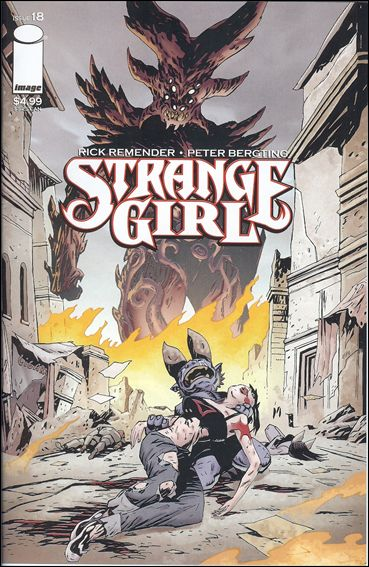 Strange Girl 18-A by Image