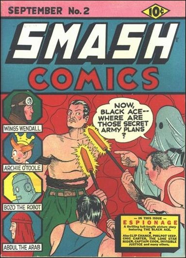 Smash Comics (1939) 2-A by Quality