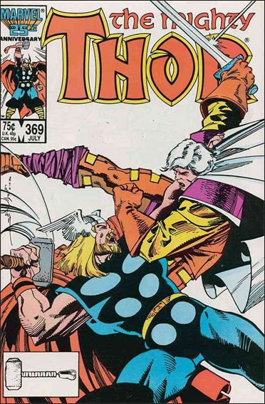 Thor (1966) 369-A by Marvel