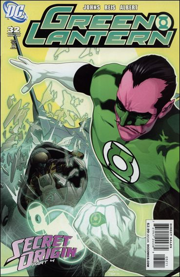 Green Lantern (2005) 32-A by DC