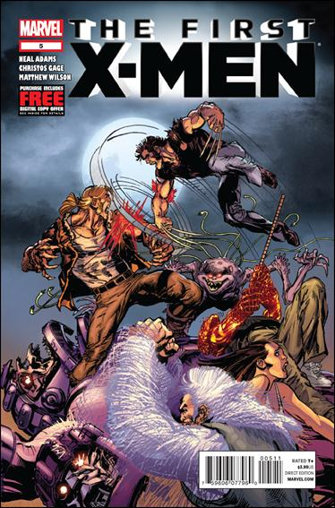 First X-Men 5-A by Marvel