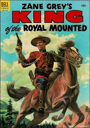 King of the Royal Mounted 18-A