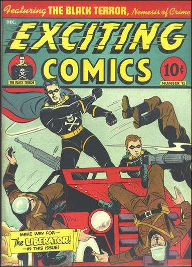 Exciting Comics 15-A by Better Publications