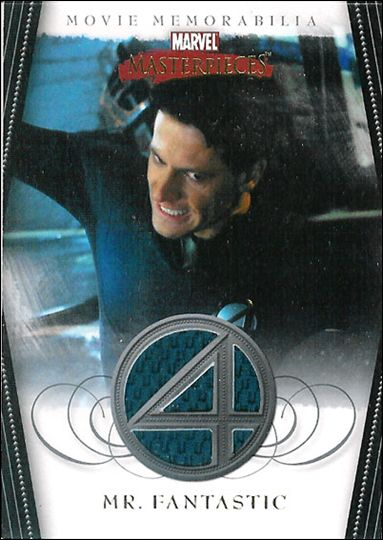 2008 Marvel Masterpieces: Series 2 (Movie Memorabilia Subset) nn 1-A by Upper Deck
