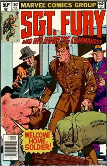 Sgt. Fury and His Howling Commandos 162-A by Marvel