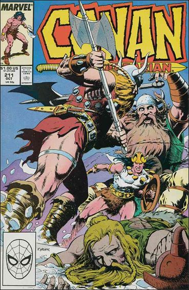 Conan the Barbarian (1970) 211-A by Marvel