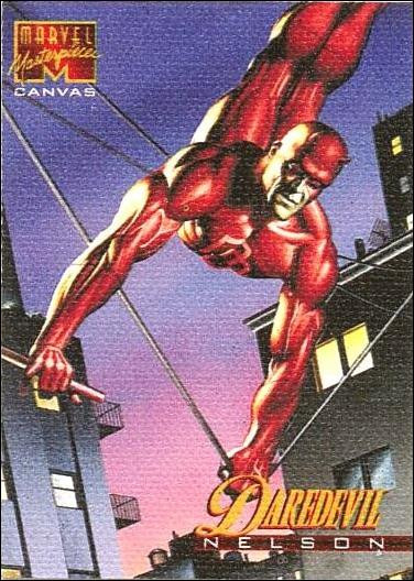 1995 Marvel Masterpieces (Canvas Subset) 5-A by Fleer