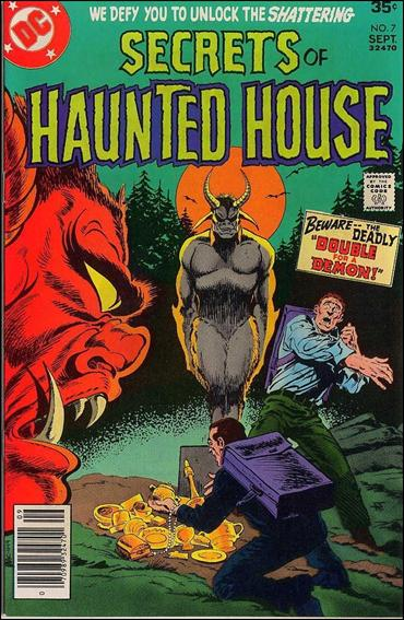 Secrets of Haunted House 7-A by DC
