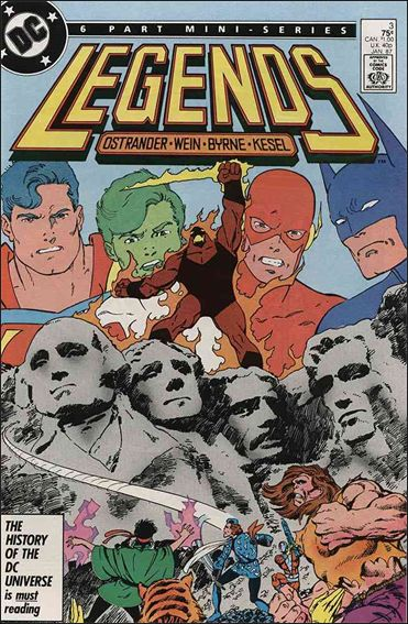 Legends (1986) 3-A by DC