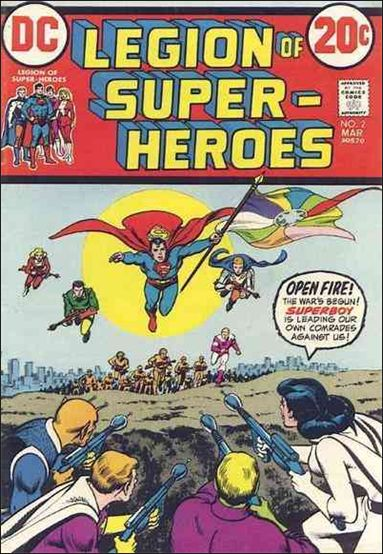 Legion of Super-Heroes (1973) 2-A by DC