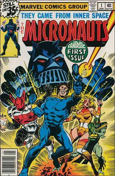 Micronauts (1979) 1-A by Marvel