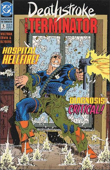 Deathstroke, the Terminator 5-A by DC