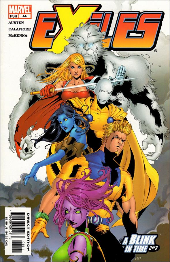 Exiles (2001) 44-A by Marvel