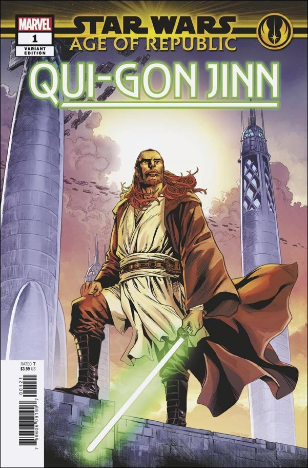 Star Wars: Age of Republic - Qui-Gon Jinn 1-B by Marvel