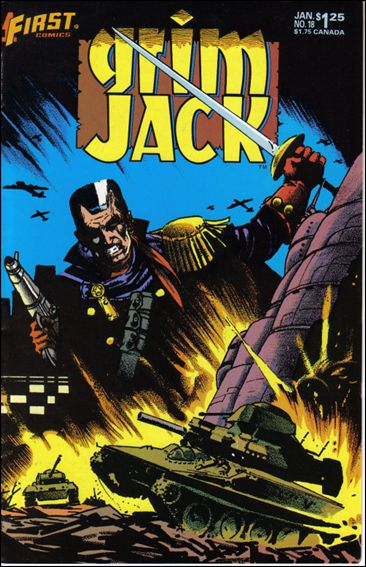 Grimjack 18-A by First