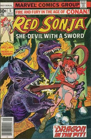 Red Sonja (1977) 5-A
