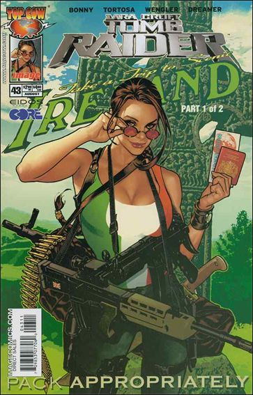 Tomb Raider: The Series 43-A by Top Cow