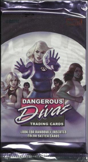 Marvel Dangerous Divas 2-A by Rittenhouse