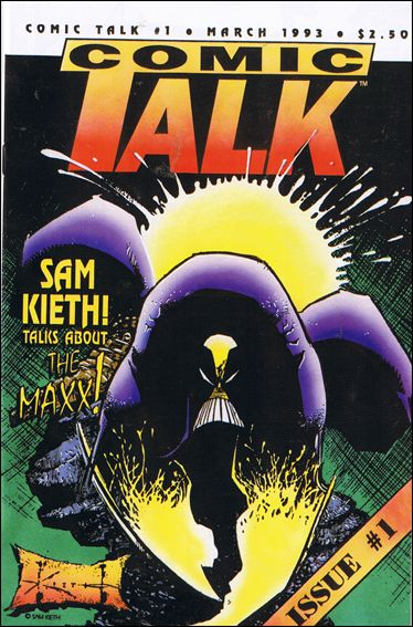 Comic Talk 1-A by Buffalo Books