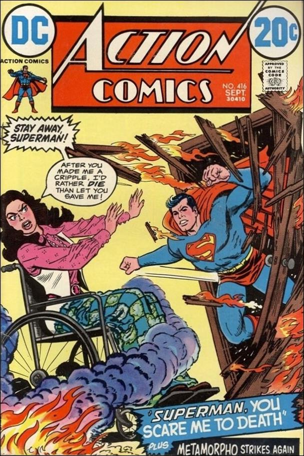 Action Comics (1938) 416-A by DC