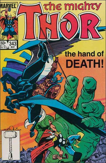 Thor (1966) 343-A by Marvel