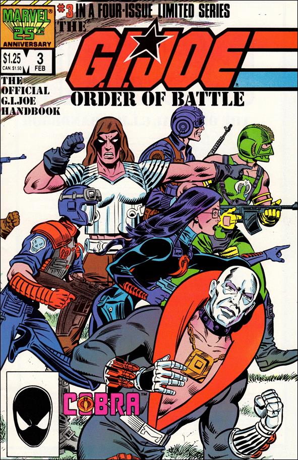 G.I. Joe: Order of Battle 3-A by Marvel