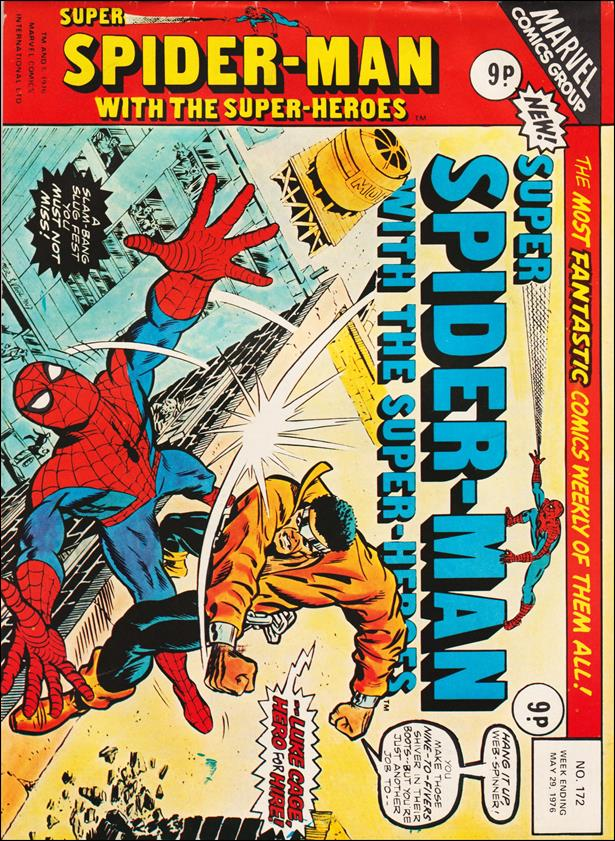 Spider-Man: Comics Weekly (UK) 172-A by Marvel UK