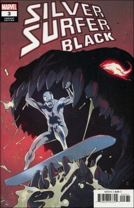 Silver Surfer: Black 3-C by Marvel