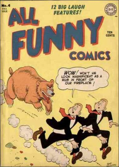 All Funny Comics 4-A by DC