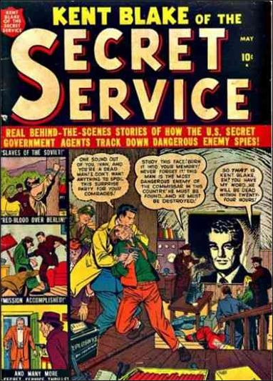 Kent Blake of the Secret Service 1-A by Atlas