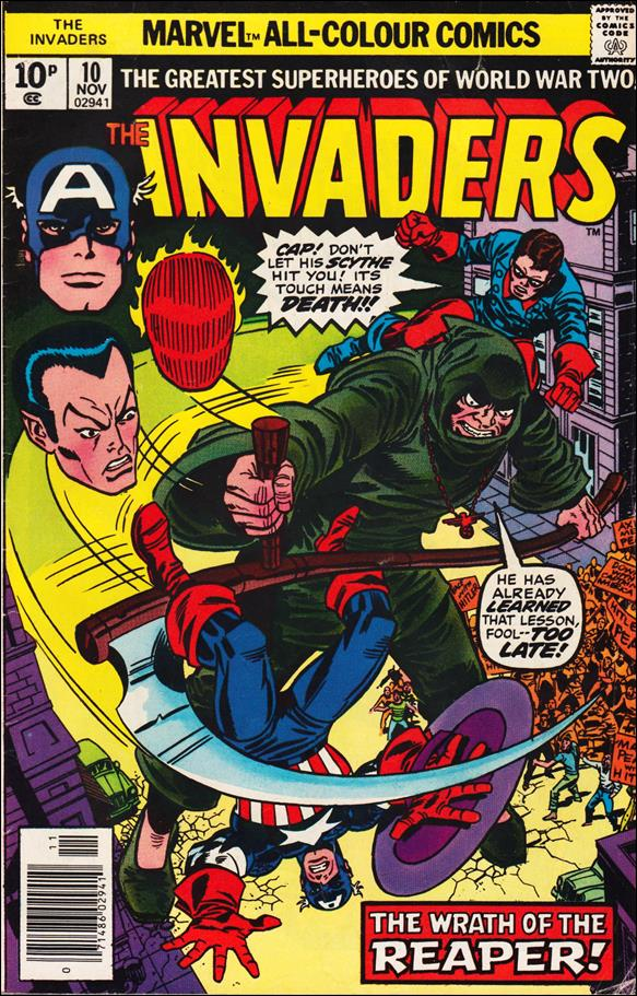 Invaders (1975) 10-B by Marvel