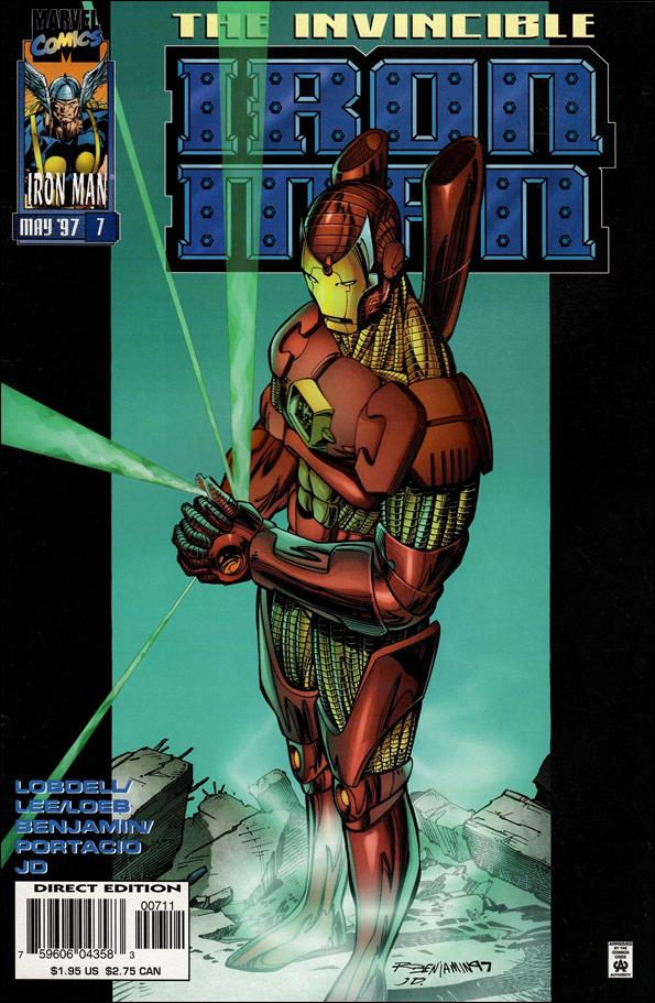 Iron Man (1996) 7-A by Marvel